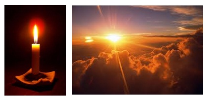 Matahari Vs Lilin