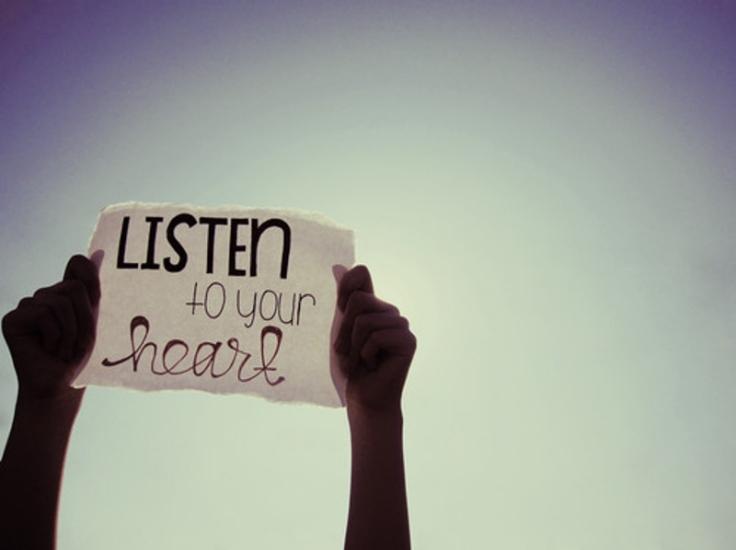 Dengarkan Apa Kata Hatimu